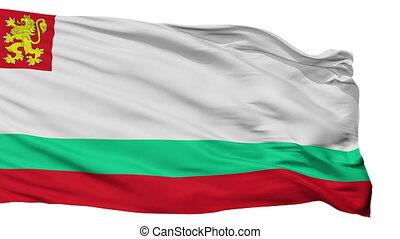 Bulgaria Naval Ensign Flag Isolated Seamless Loop - Naval...