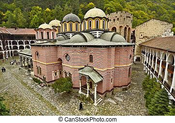 Bulgaria, Rila Monastir - Rila, Bulgaria - Unesco World...