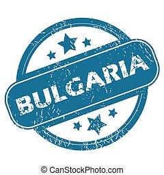 BULGARIA round stamp