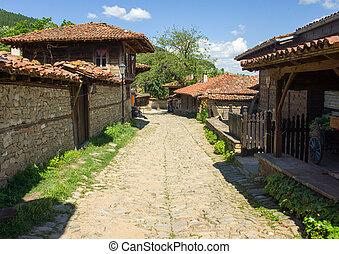 Bulgaria. rural street