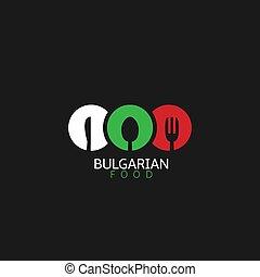 Bulgarian food icon - Bulgarian food logo icon...