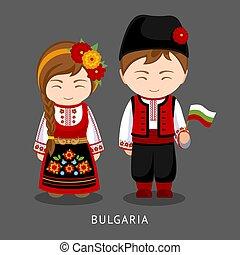 bulgarians, flag., 国民の 服