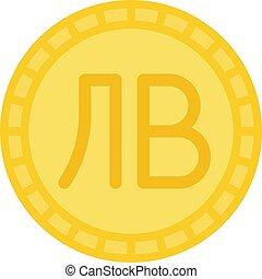 bulgarie, monnaie, lev, devise bulgare, icône