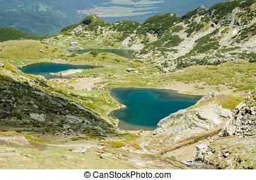 Bulgarien, Sieben, Seen,  rila