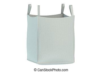 Bulk bag isolated on the white background