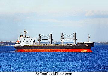 Bulk cargo ship