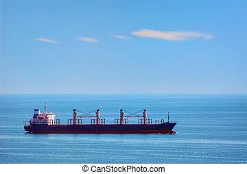 Bulk Carrier Ship in the Black Sea