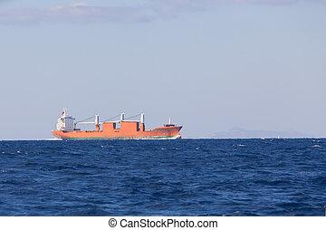 Bulk-carrier ship