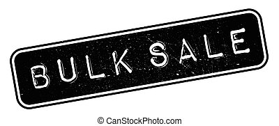 Bulk Sale rubber stamp
