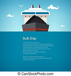 Bulk Ship, Poster Brochure