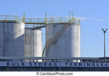 Bulk Storage Terminals - Auckland New Zealand - AUCKLAND,NZ...