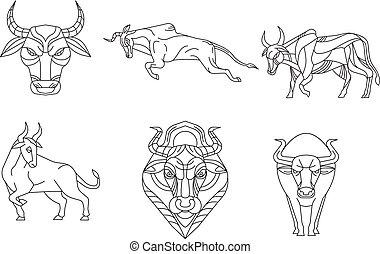 Cow Vector Polygon Vector Geometric Polygon Cow Polygonal