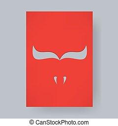 bull background poster