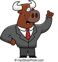 Bull Businessman