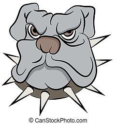 Bull Dog Face