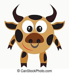 bull, farm animal