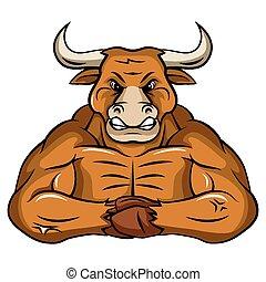 Bull Mascot