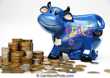 Bull & money