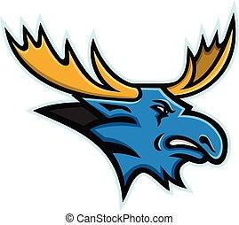bull-moose-side-head-MASCOT