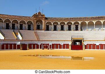 Bull ring in Spain