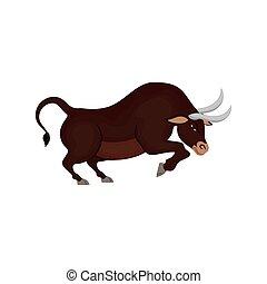 Bull stock market symbol