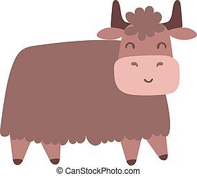 Bull vector illustration.