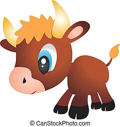 Bull vector.