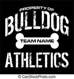 bulldog, atletismo
