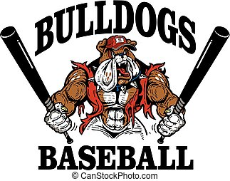 bulldog, baseball