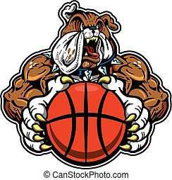 bulldog basketball mascot