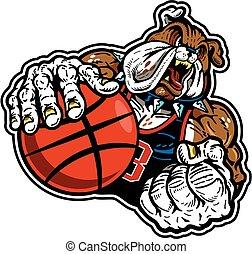 bulldog basketball player