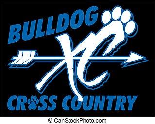 bulldog cross country