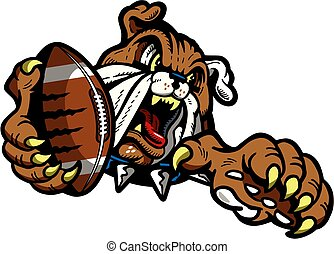 bulldog football mascot