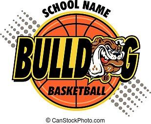 bulldog, kosárlabda