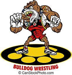 bulldog, luchador