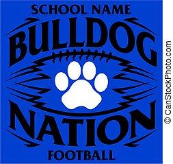 bulldog, nemzet