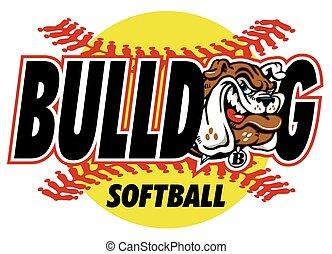 bulldog, softbal