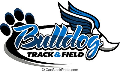 bulldog track and field