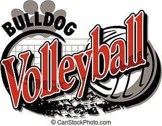 bulldog, voleibol
