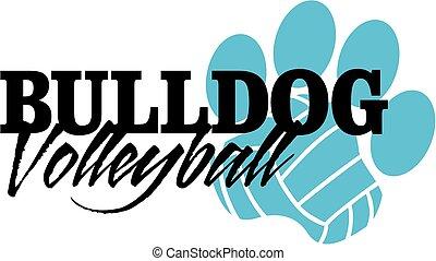 bulldog, volleybal