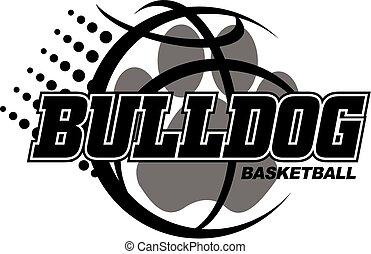 bulldogge, basketball