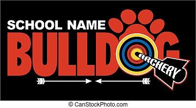 bulldogge, bogensport