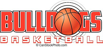 Bulldogs Basketball Design