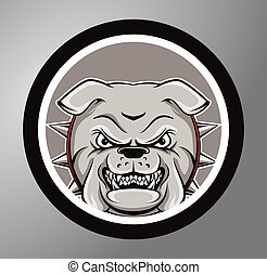 Bulldogs Circle sticker