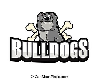bulldogs illustration design