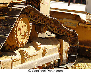 Bulldozer Detail 2