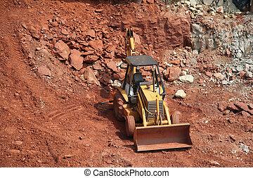 bulldozer, konstruktion sajt