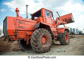 bulldozer, sable