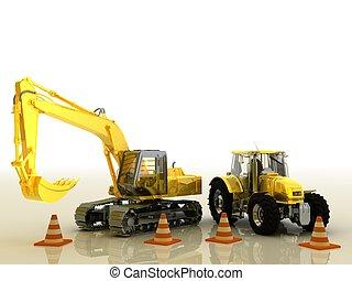 bulldozer tractor