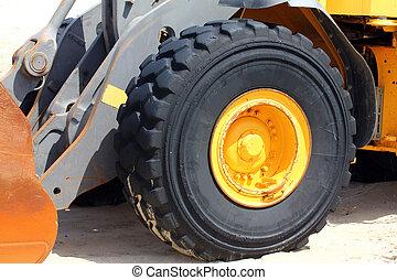 Bulldozer Wheel